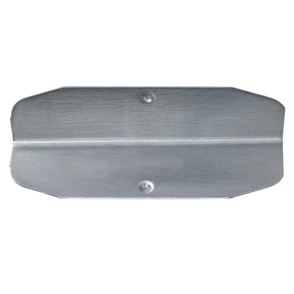 3 in. H x 1.5 in. W x 1.5 in. D Galvanized Steel Hidden Post Coupling (Pack of 4)