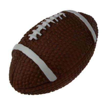 2-1/8 in. Football Hand-Painted Realistic Sports Cabinet Knob (10-Pack)