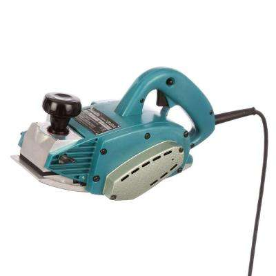 9.6 Amp 4-3/8 in. Corded Curved Base Corded Planer with (2) Blades