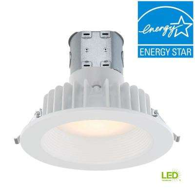 Easy Up 6 in. White Integrated LED Recessed Kit