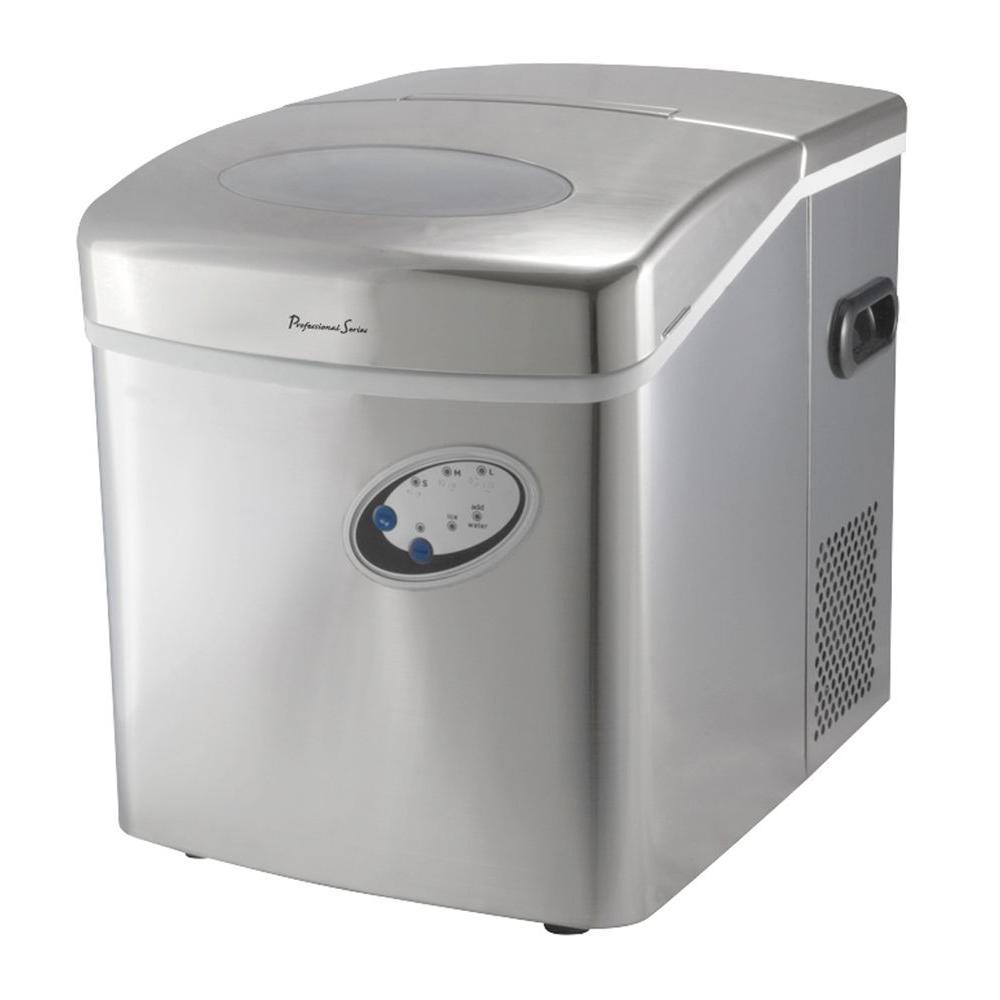 Professional Series Collezioni 14 in. Wide Compact Portable Ice Maker