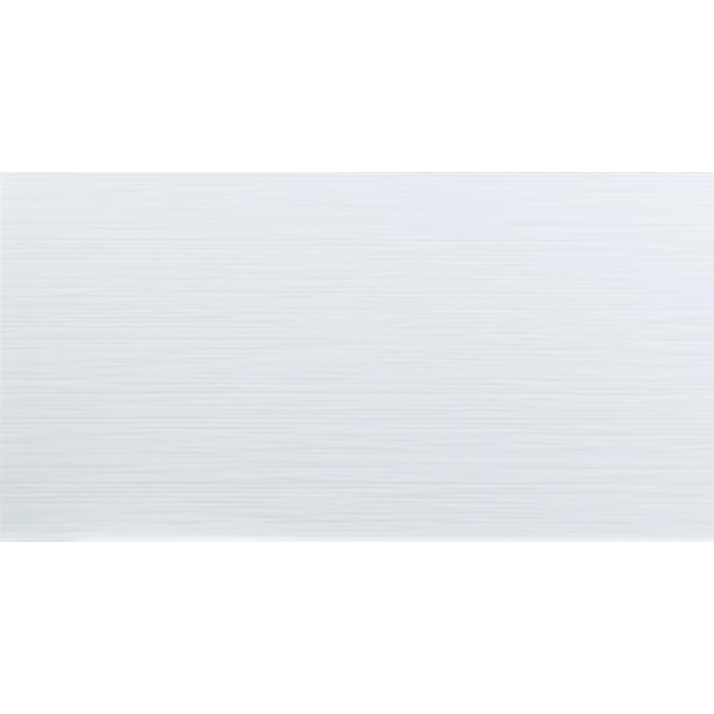 Msi dymo stripe white glossy 12 in x 24 in glazed ceramic wall msi dymo stripe white glossy 12 in x 24 in glazed ceramic wall tile dailygadgetfo Choice Image