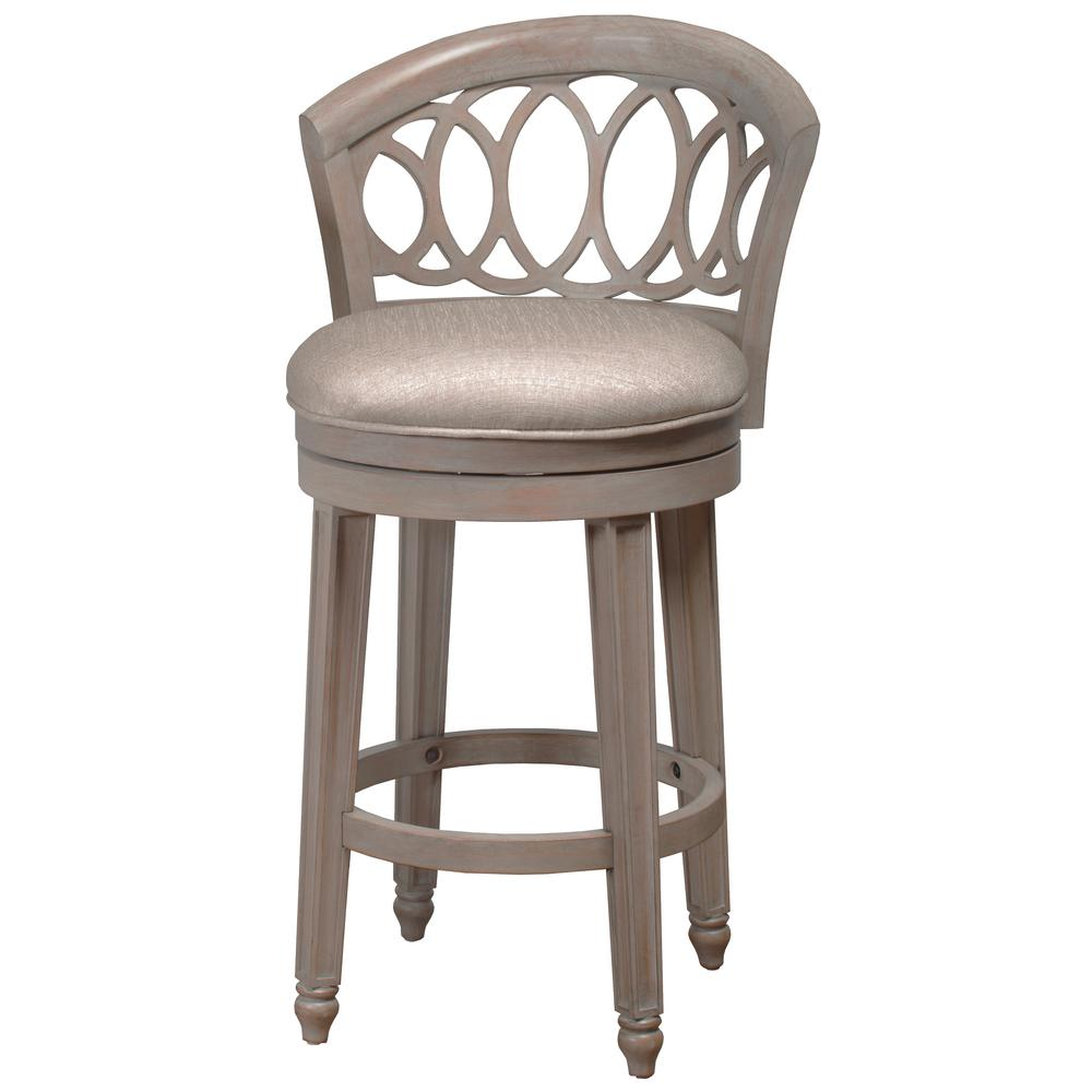 Hillsdale Furniture Adelyn 26 In Gold Metallic Silver