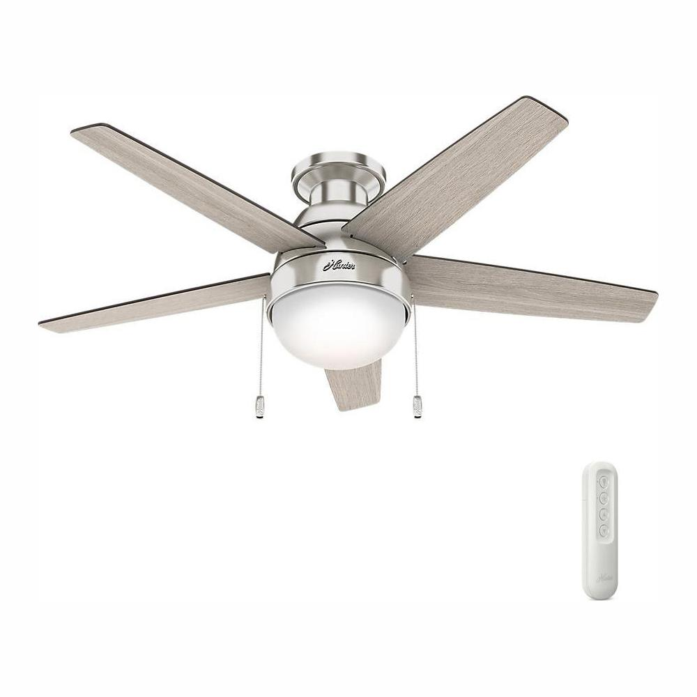 Flush Mount Ceiling Fans With Lights Tcworks Org