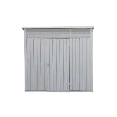 8 ft. x 6 ft. Palladium Premier Metal Shed