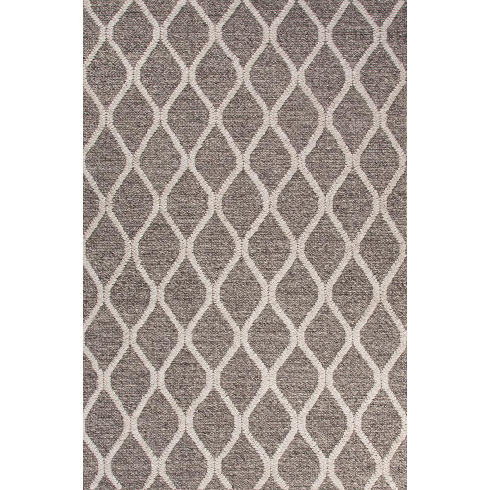 Orian Rugs Patterson Charcoal: Jaipur Living Textured Charcoal Gray 5 Ft. X 8 Ft. Tribal