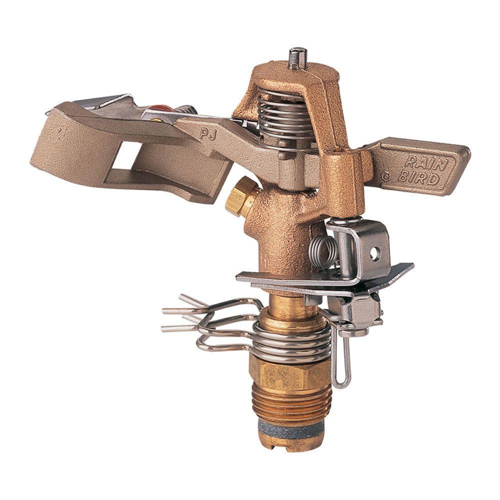 Exterior Sprinkler Heads : Rain bird pjda c brass impact sprinkler head pjdac