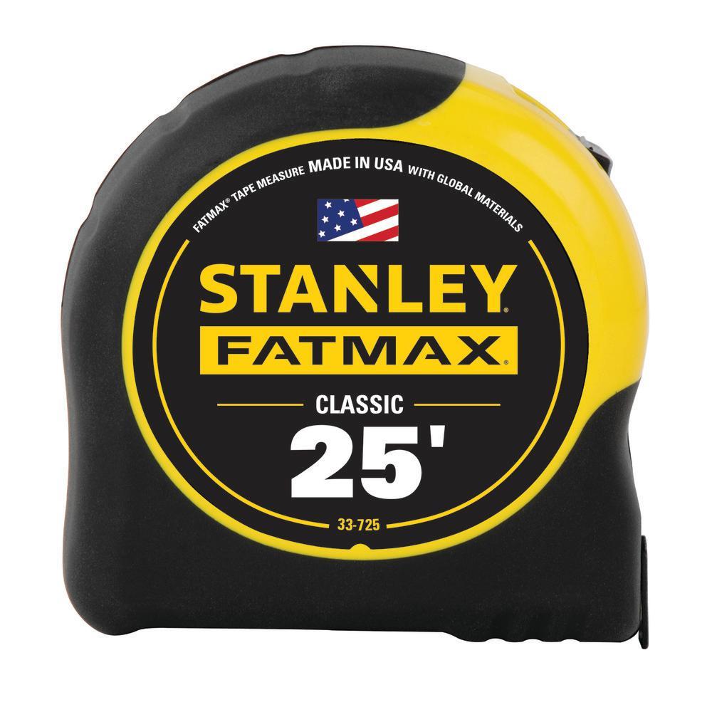 Stanley 25 ft. FATMAX Tape Measure