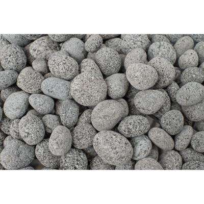 20 lb. Black Lava Pebbles (25-Pack/Pallet)