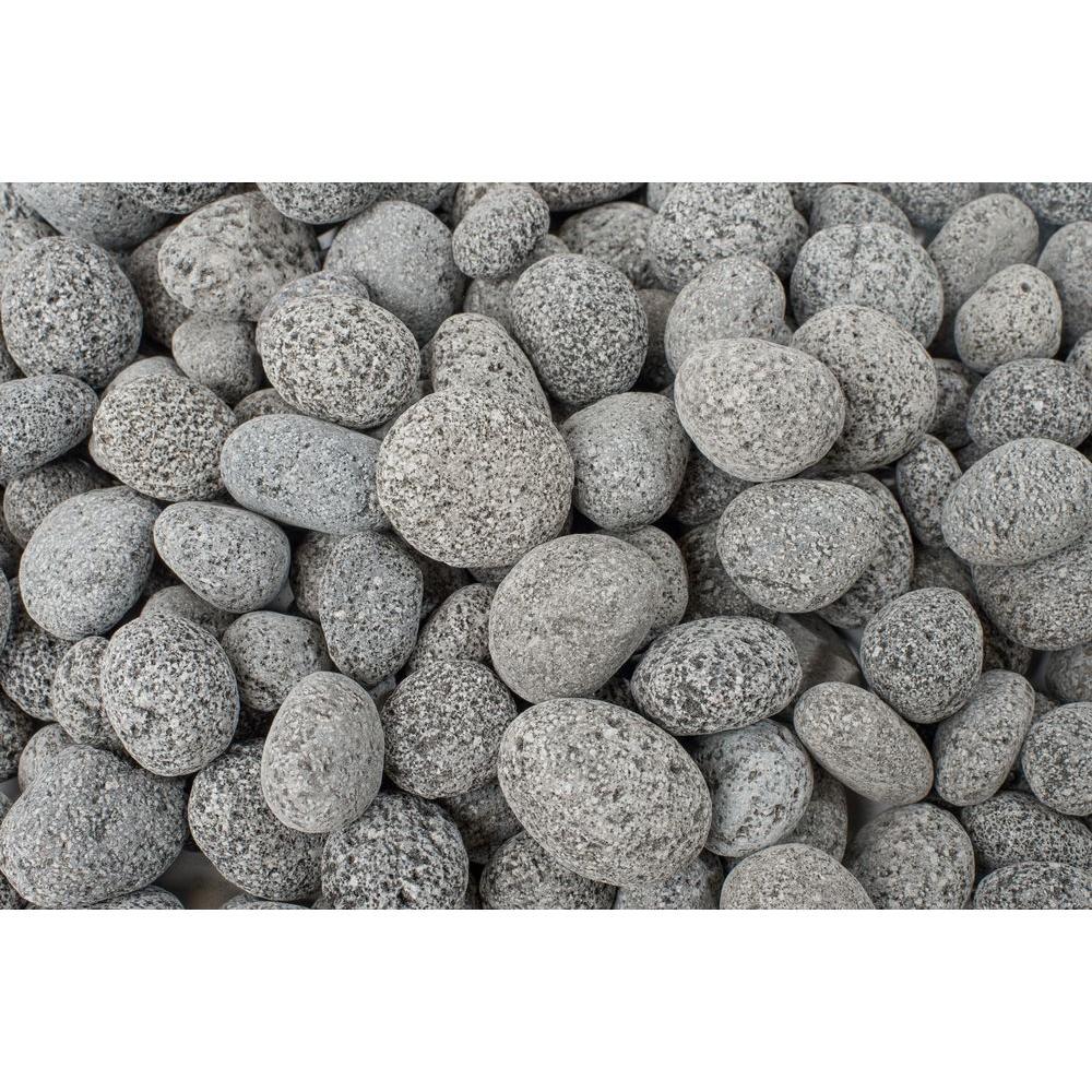 20 lb. Black Lava Pebbles (25-Pack/Pallet)
