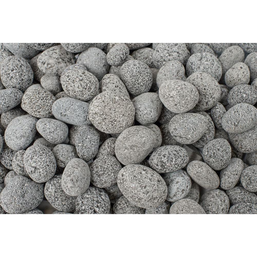 20 lb. Black Lava Pebbles (40-Pack/Pallet)