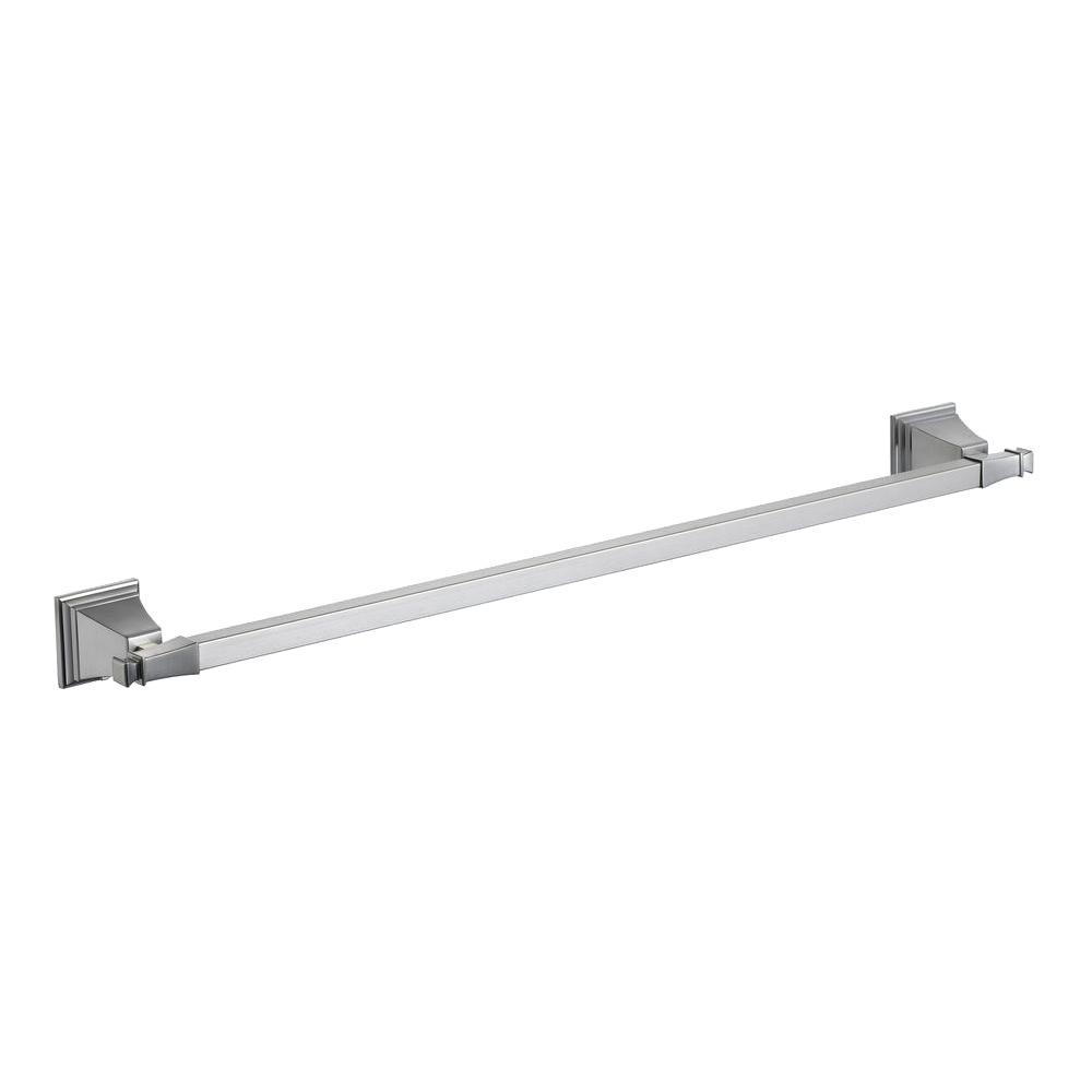 Pegasus Exhibit 24 in. Towel Bar in Brushed Nickel