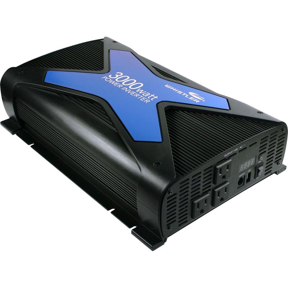 Whistler Pro-3000-Watt Po-Watter Inverter