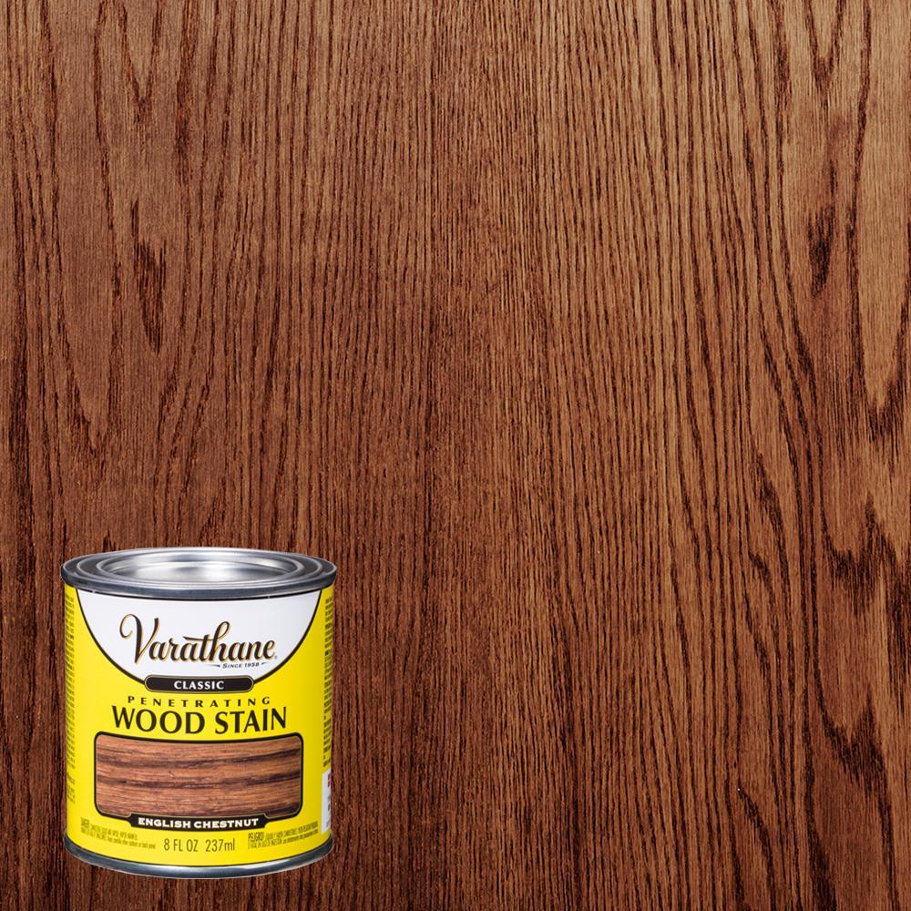 Varathane 8 oz. English Chestnut Classic Wood Interior Stain