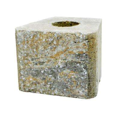 RockWall Medium 6 in. x 7.75 in. x 7 in. Yukon Concrete Retaining Wall Block (96 Pcs. / 31 Face ft. / Pallet)