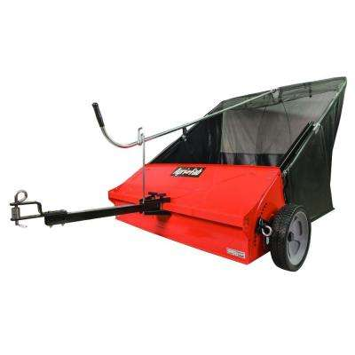 44 in. 25 cu. ft. Tow-Behind Lawn Sweeper