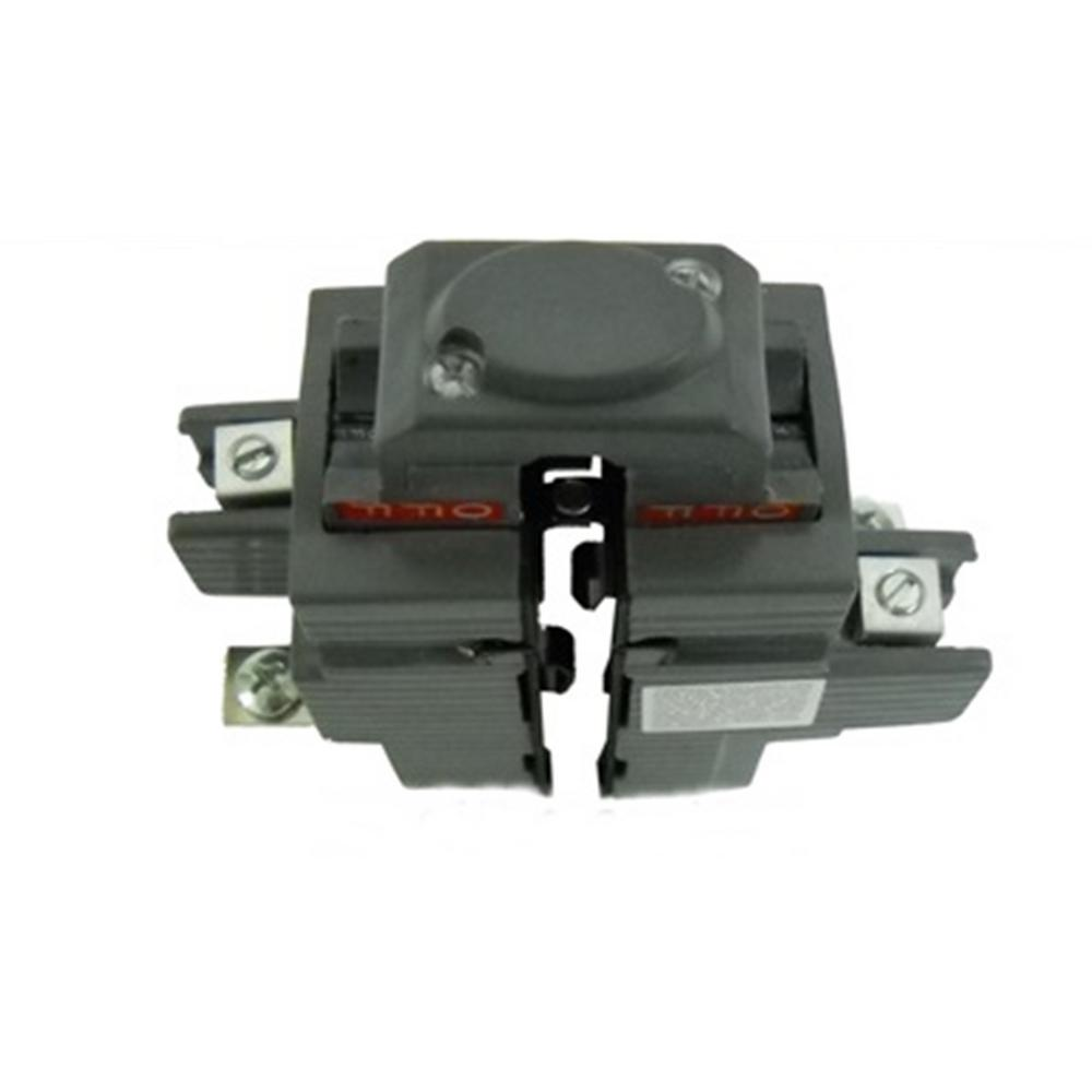 mercial Electric 100 Amp 1 1 2 in 2 Pole Pushmatic