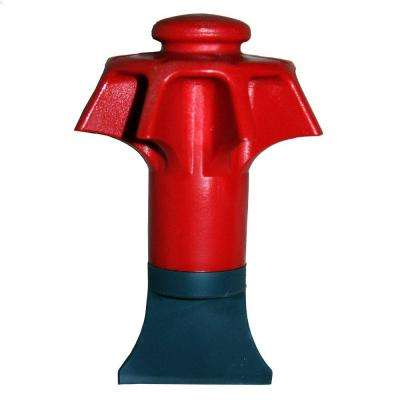 Disposal Genie Garbage Disposal Strainer in Red