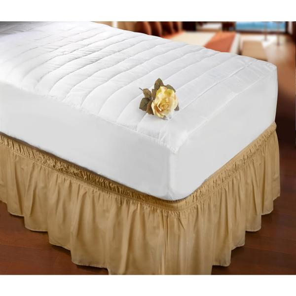 Home Details Quilted Full Mattress Bed Cover