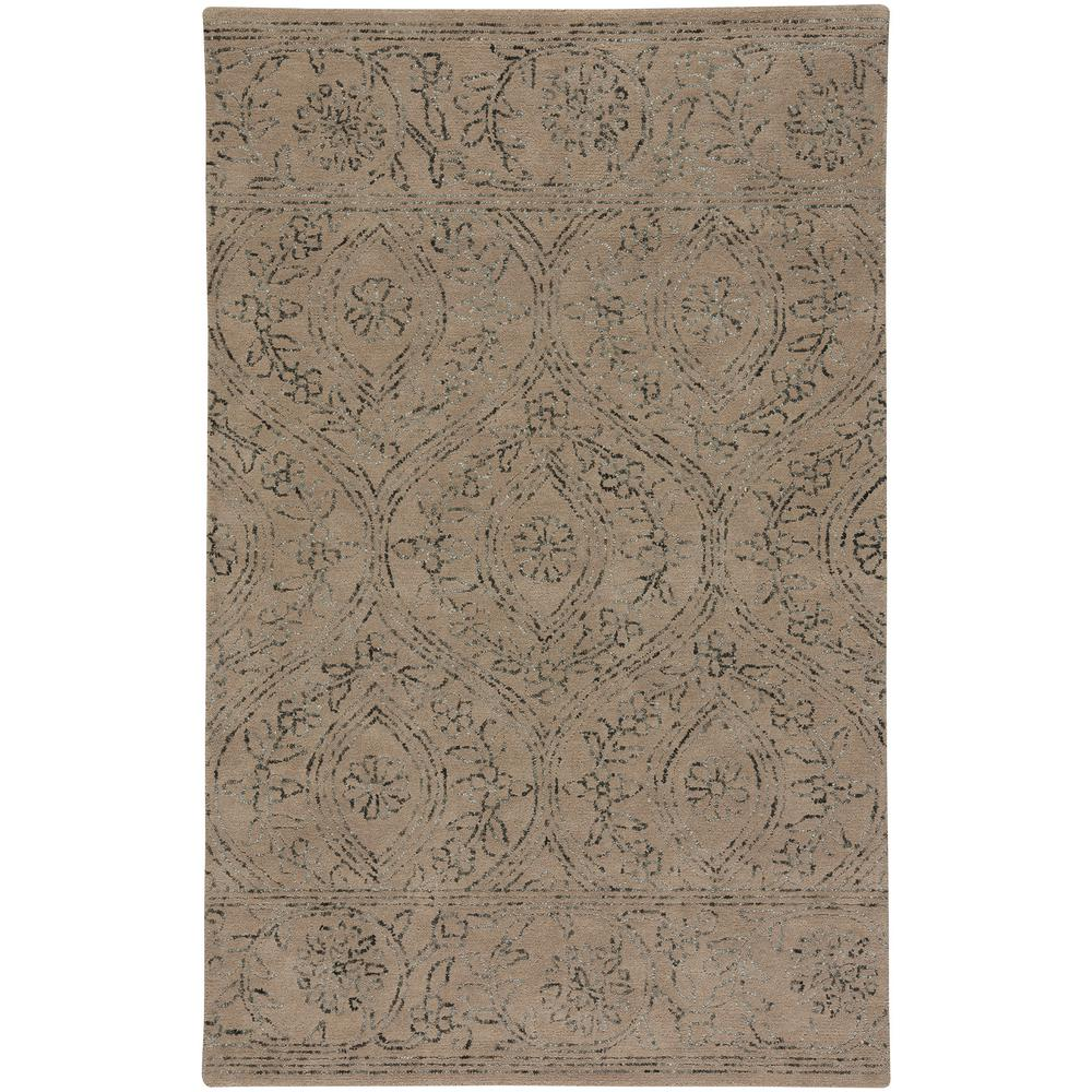 Capel Enchant Sand (Brown) 5 ft. x 8 ft. Area Rug The Enchant style is a wool, transitional rug design from Capel Rugs. Enchant Hand rugs have a hand tufted construction. Uniting quality materials with beautiful, handcrafted design. Practical yet indulgent, artisanal yet affordable, Capel rugs continues to be a favorite for families 100 years after their debut. We make rugs in our American factories and we also source rug weaving vendors from around the world to create a collection unrivaled in range, unsurpassed in design and uncompromising in quality. Color: Sand.