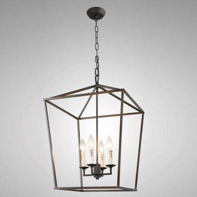 No additional accessories brown chandeliers lighting the candle style 4 light antique iron frame chandelier aloadofball Gallery