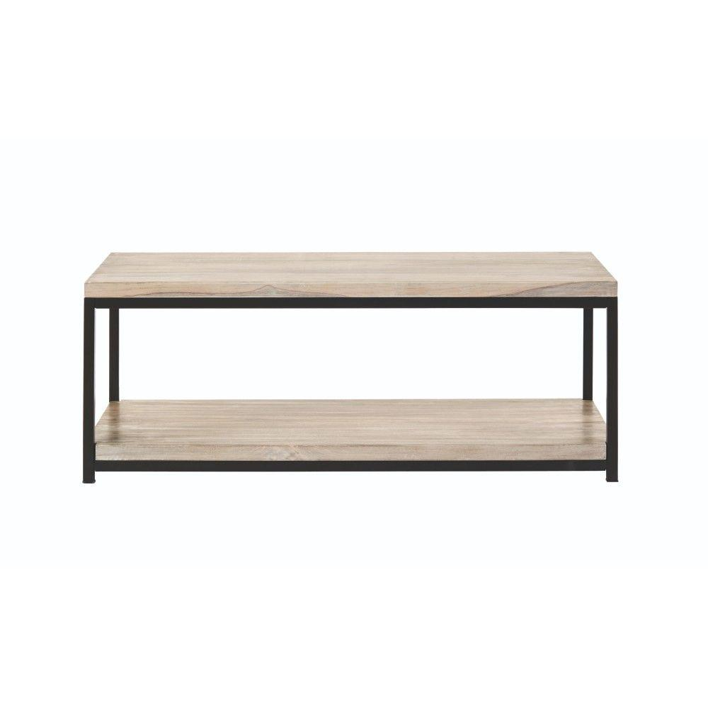 High Quality Home Decorators Collection Anjou White Wash Coffee Table