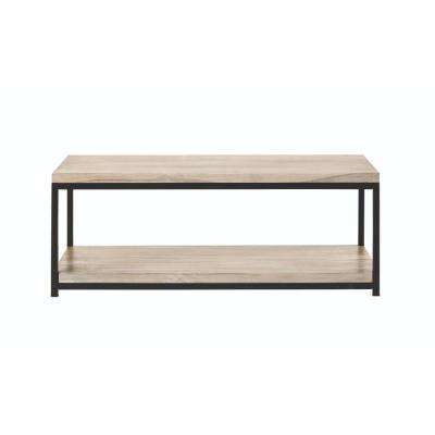 Anjou White Wash Coffee Table