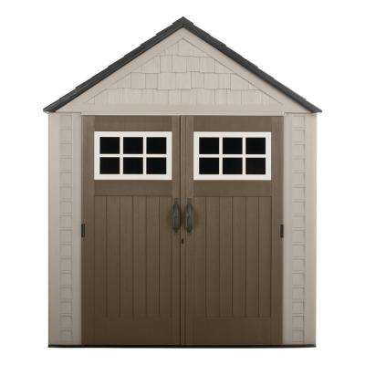 Big Max 7 ft. 1 in. x 7 ft. 2 in. Resin Storage Shed