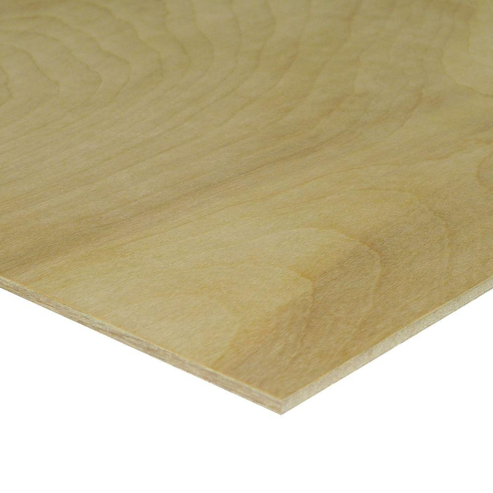Swaner Hardwood 5.2 mm (1/4 in. Category) 4 ft. x 8 ft. Birch Plywood