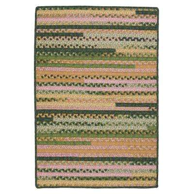 Hearth Rectangular Spring 2 ft. 3 in. x 3 ft. 10 in. Braided Area Rug