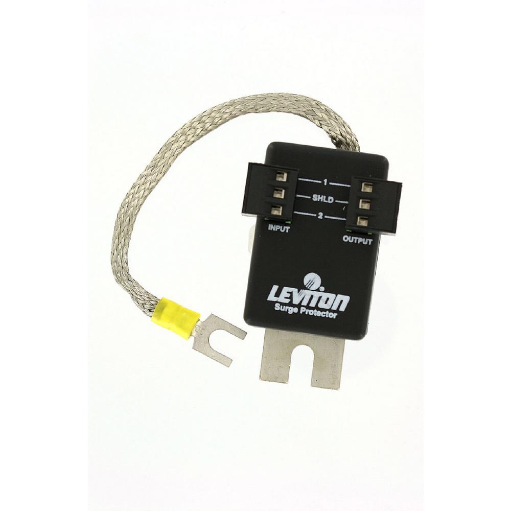 8.5-Volt DC 3-Pin Header Connector Surface Mount Communication Module Surge Protective Device, Black