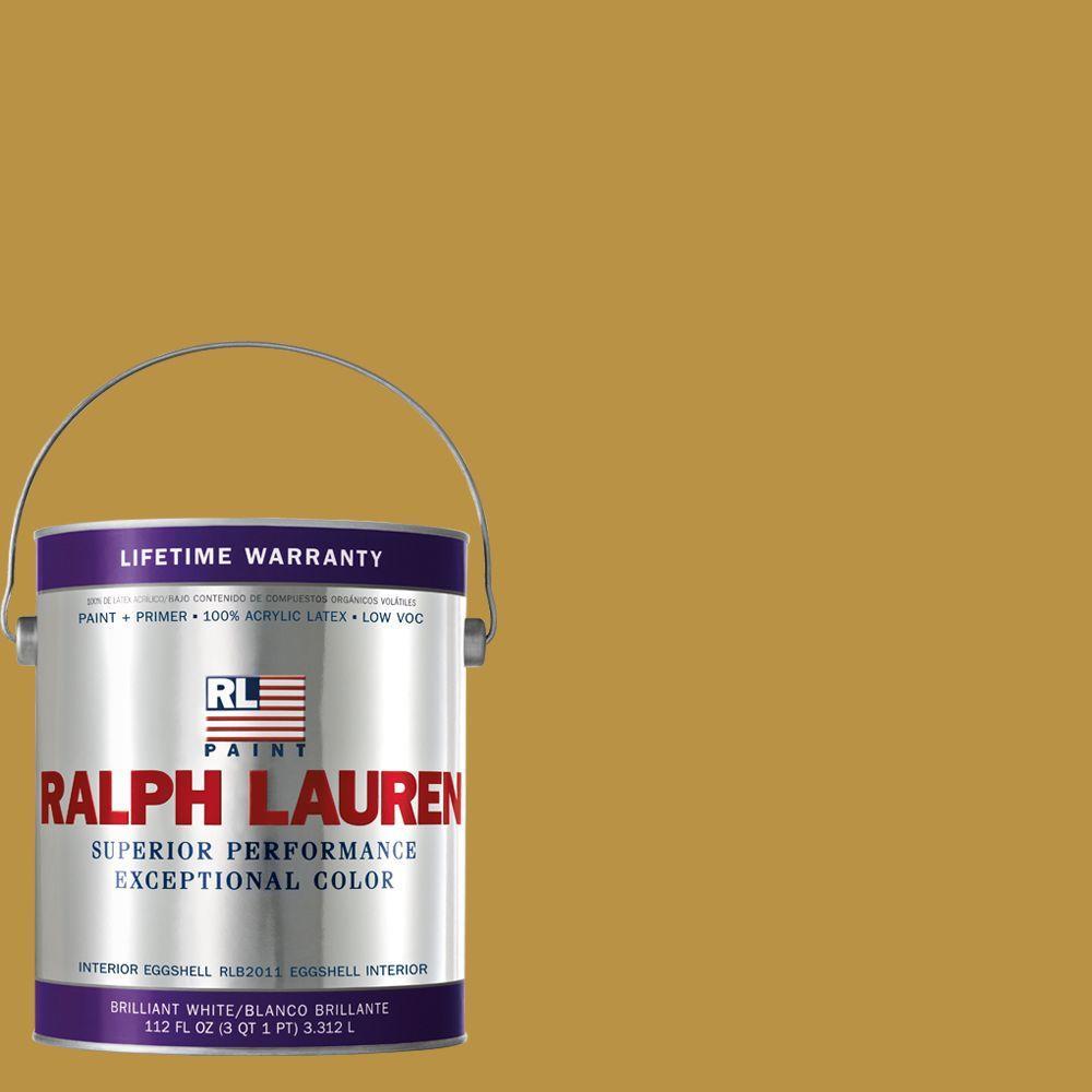 Ralph Lauren 1-gal. Satchel Gold Eggshell Interior Paint