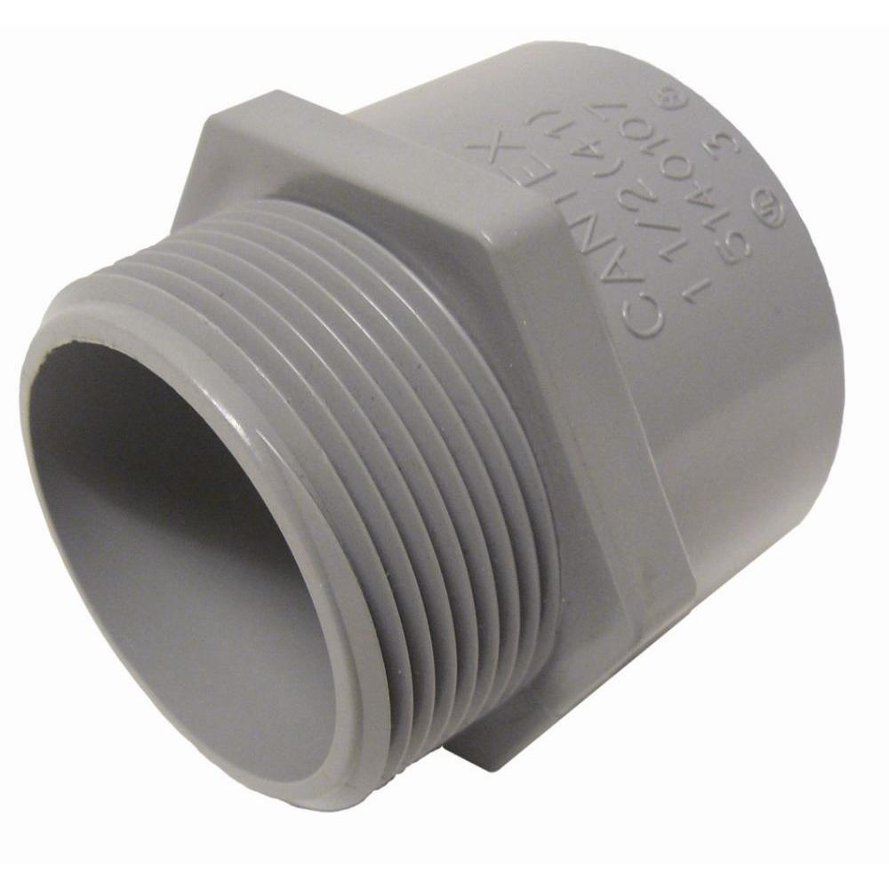 3 4 In Male Terminal Adapter R5140104 The Home Depot