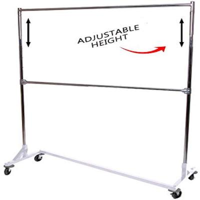 Industrial Strength Adjustable Height Z Rack Portable Closet (63 in. W x 84 in. H)