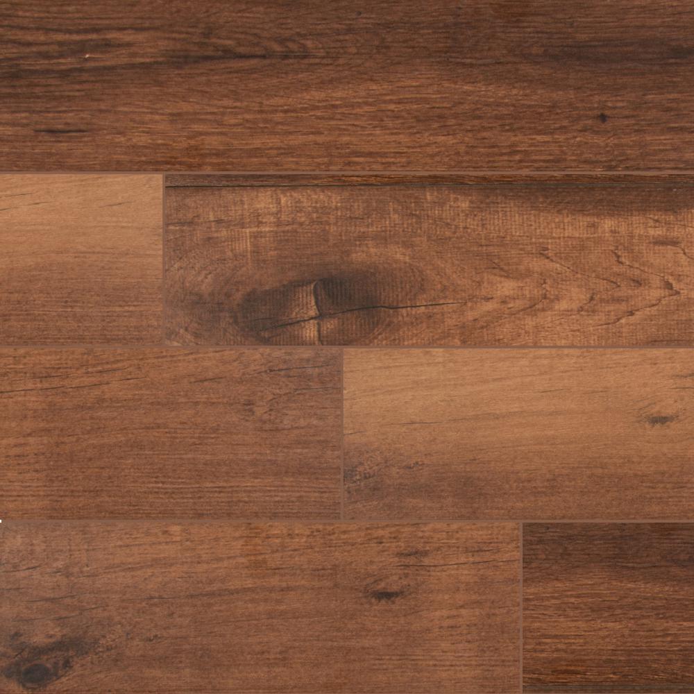 Arbor Chestnut 6 in. x 36 in. Matte Porcelain Floor and Wall Tile (15 sq. ft. / case)