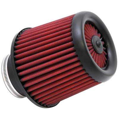 DryFlow Air Filter - Round Tapered 5in Top OD x 6 Base OD x 5.563in H x 3in Flange ID