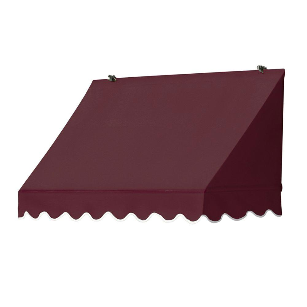 Awnings in a Box 4 ft. Traditional Manually Retractable A...