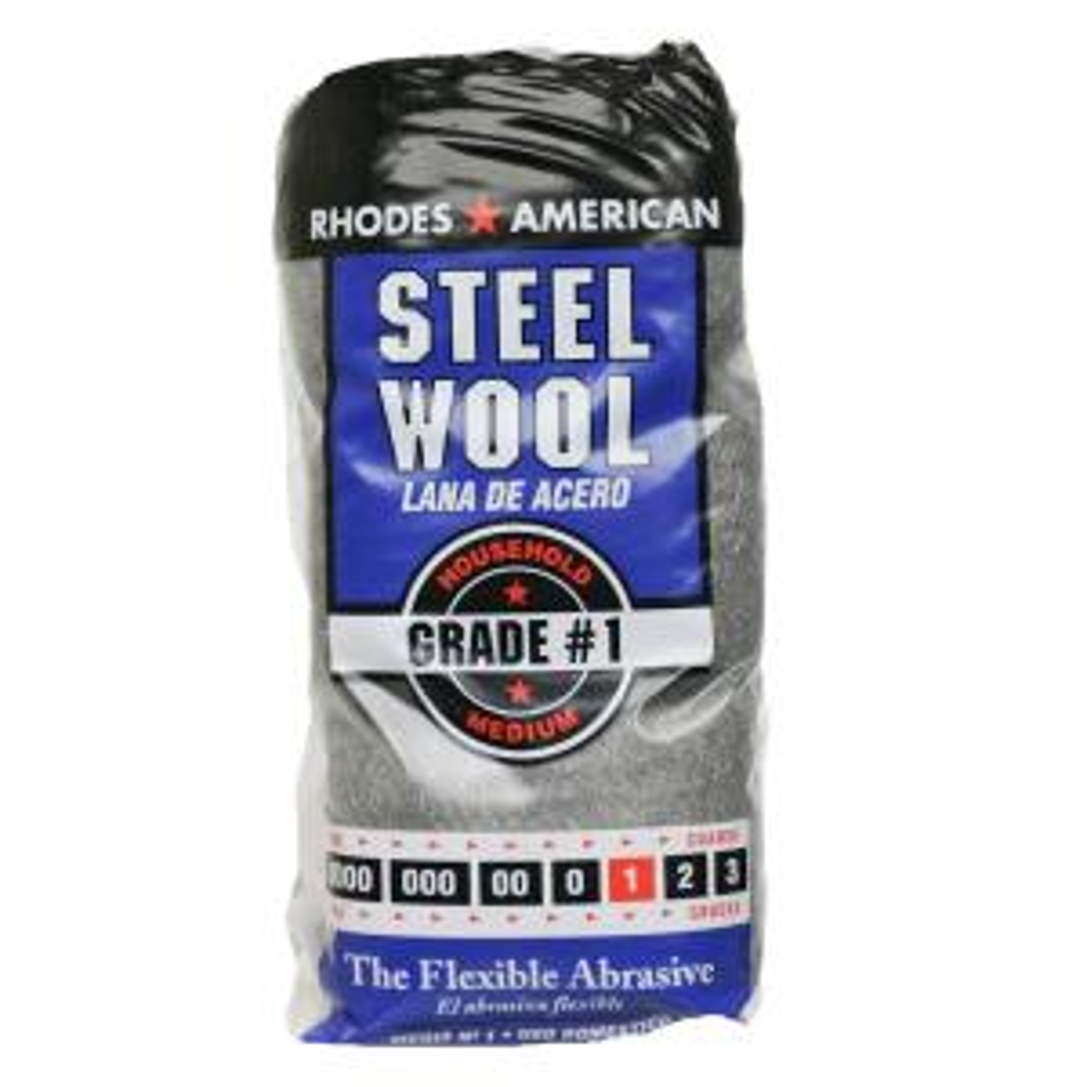 #1 12 Pad Steel Wool, Medium Grade