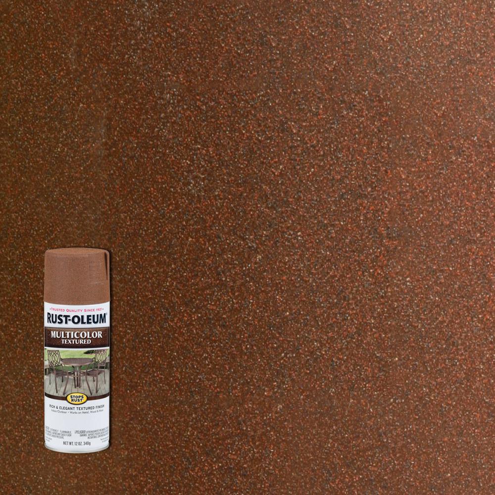 Rust Oleum Stops Rust 12 oz Protective Enamel Rustic Umber Multi