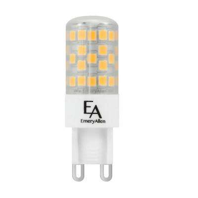 50-Watt Equivalent G9 Base Dimmable 2700K LED Light Bulb Warm White (2-Pack)
