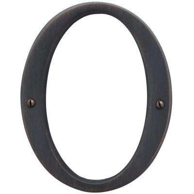 4.75 in. Flush Mount Venetian Bronze Number 0
