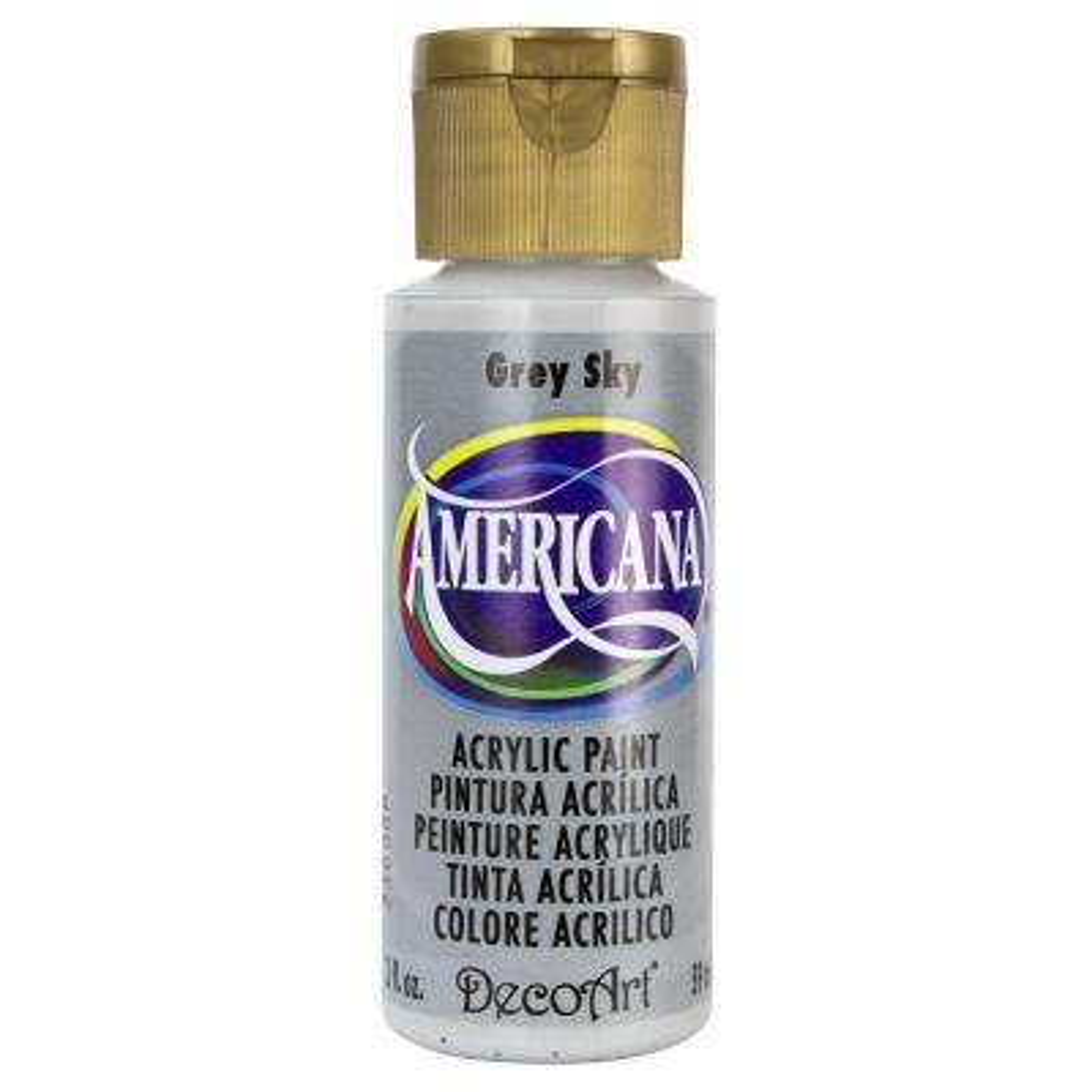 Americana 2 oz. Grey Sky Acrylic Paint