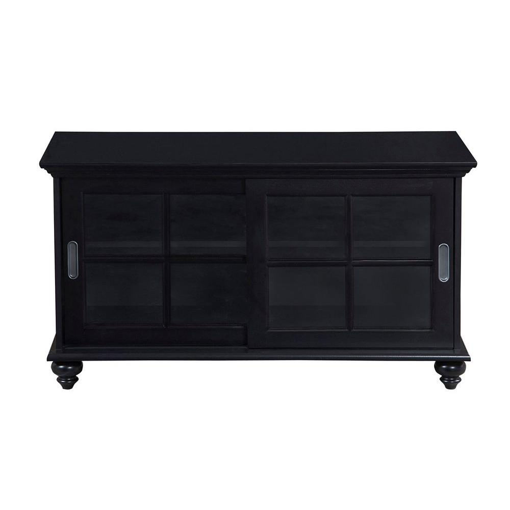 Inspirations by Broyhill Bradford Place TV Console with 2-Sliding Framed Glass Doors-DISCONTINUED