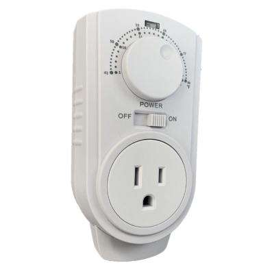 Plug In Thermostat for Portable Heaters and Air Conditioners