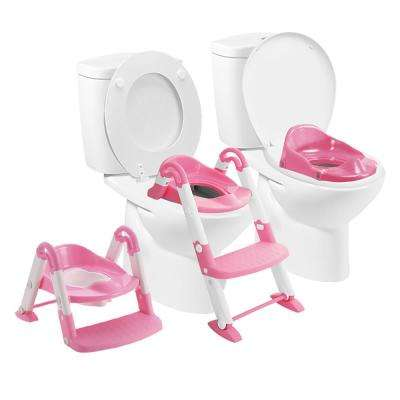 Bambino Booster 3 in 1 Toilet Stool in Pink