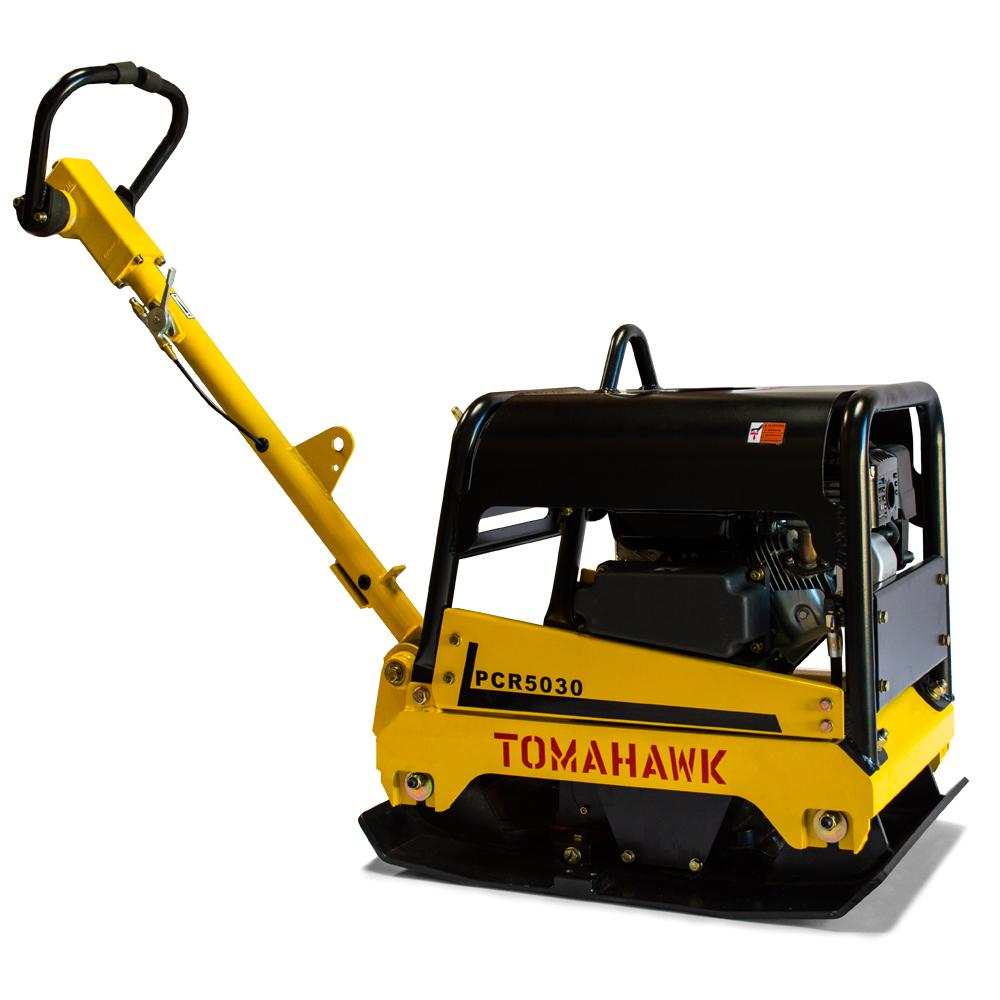6.5 HP Reverse Plate Compactor for Asphalt/Aggregate/Cohesive Soil Compaction