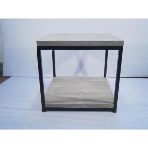 8 Home Decorators Collection Anjou White Wash End Table