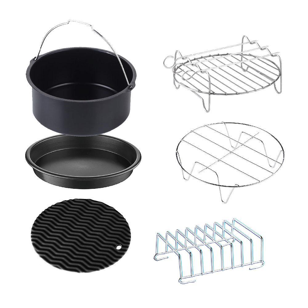 6-Piece Universal XL Air Fryer Accessory Set