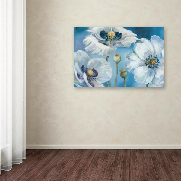 Trademark Fine Art 16 in. x 24 in. ''Blue Dance I''