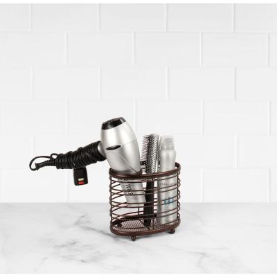 Ashley 7.5 in. W Countertop Styling Caddy in Bronze
